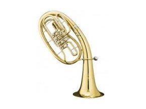 BS 33/2-L - Bb tenor , 4 ventilový cylindrový, mosazný