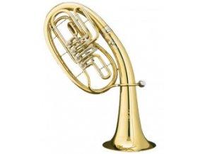 BS 3033/2L - Bb tenor profesionální B&S 3033/2L, 4 ventilový, zlatomosazný
