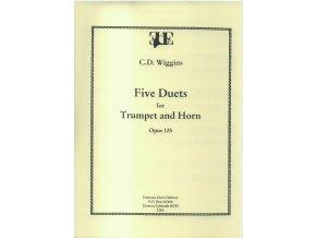 Five duets op.125 (Horn/Trumpet) - C.D.Wiggins