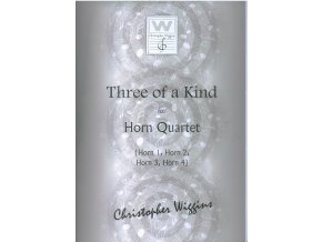 Three of a Kind - (4x lesní roh) - C.D.Wiggins