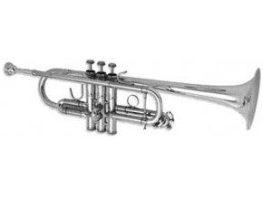 B&S 3136/2-S Challenger II C trumpeta profesionání postříbřená