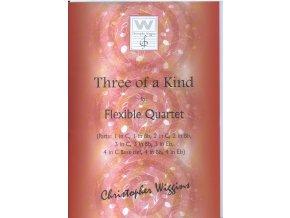 Three of a Kind - (Flexible quartet) - C.D.Wiggins