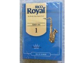 Rico Royal tvrdost 1  plátky pro tenorový  saxofon - RKB1010