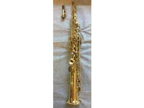 Soar S782LQ (S772RLQ) - soprán Bb saxofon s rolovanými tónovými otvory , rovné provedení - lakovaný