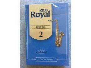 Rico Royal tvrdost 2  plátky pro tenorový  saxofon - RKB1020