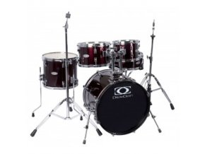 Drumcraft DC Serie 3 Fusion, Red Wine