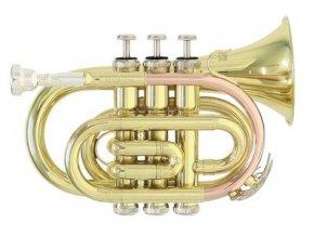 Roy Benson PT-101, kapesní B trumpeta - trubka