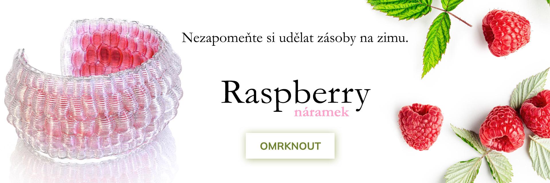 náramek raspberry
