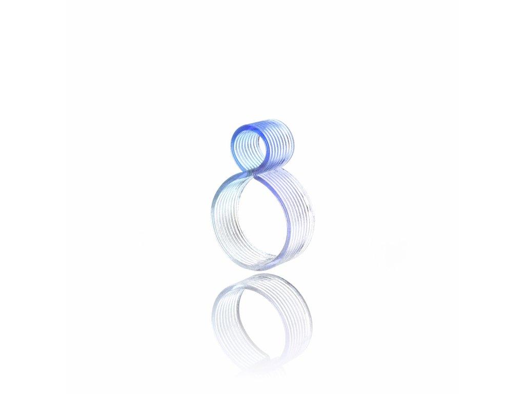 prsten O modra light