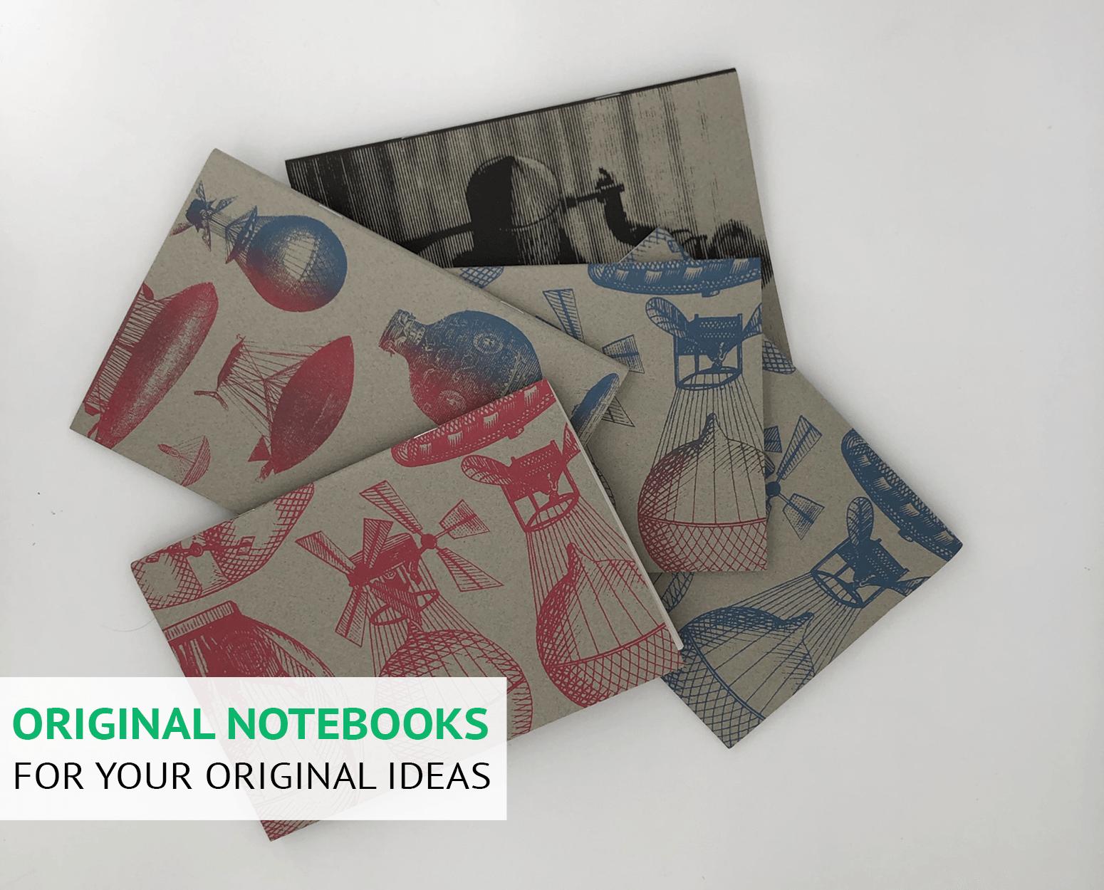 Original notebooks for your original ideas