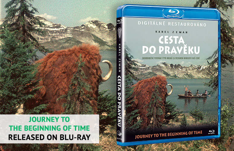 Blu-ray Journey to the Beginning of Time