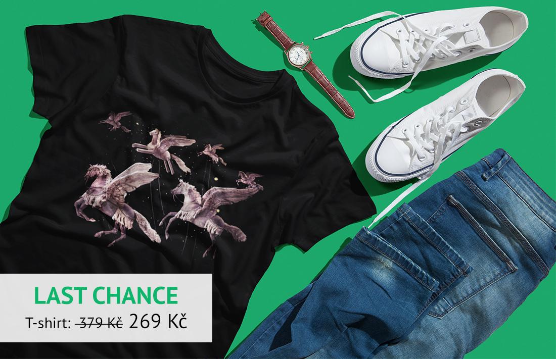 T-shirt clearance sale