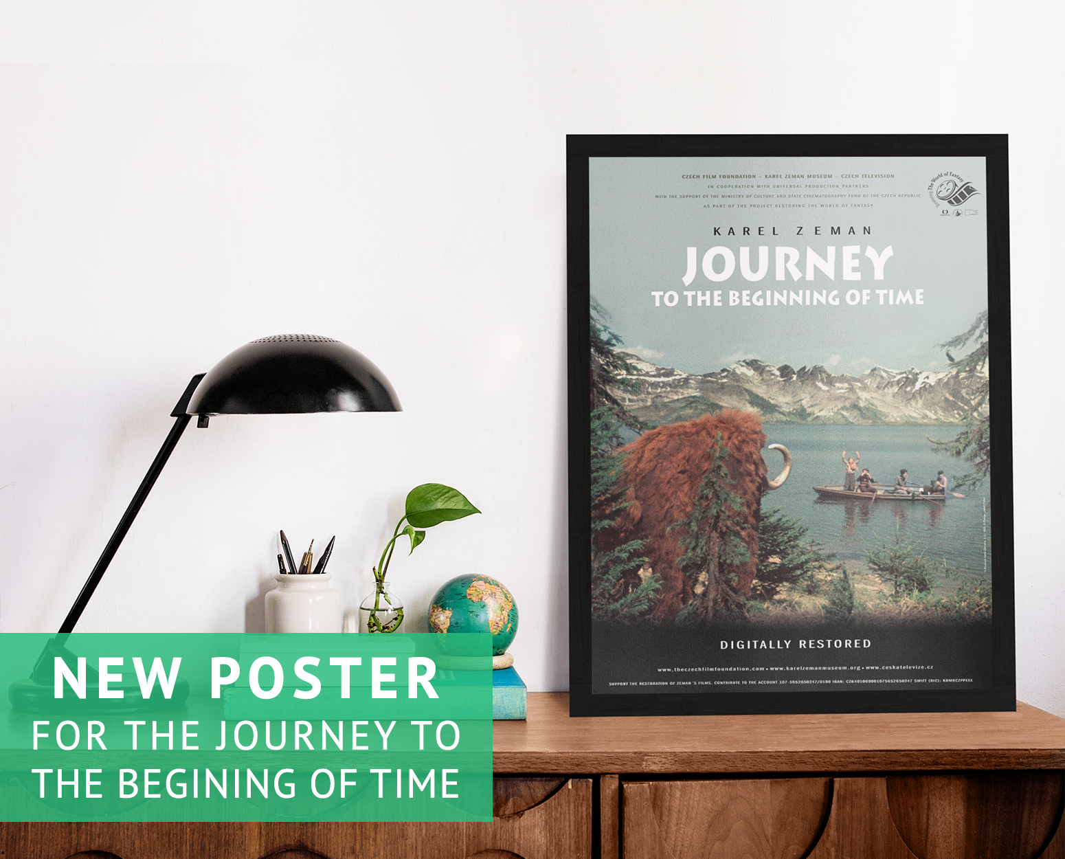 Poster for the Journey to the Beginning of Time