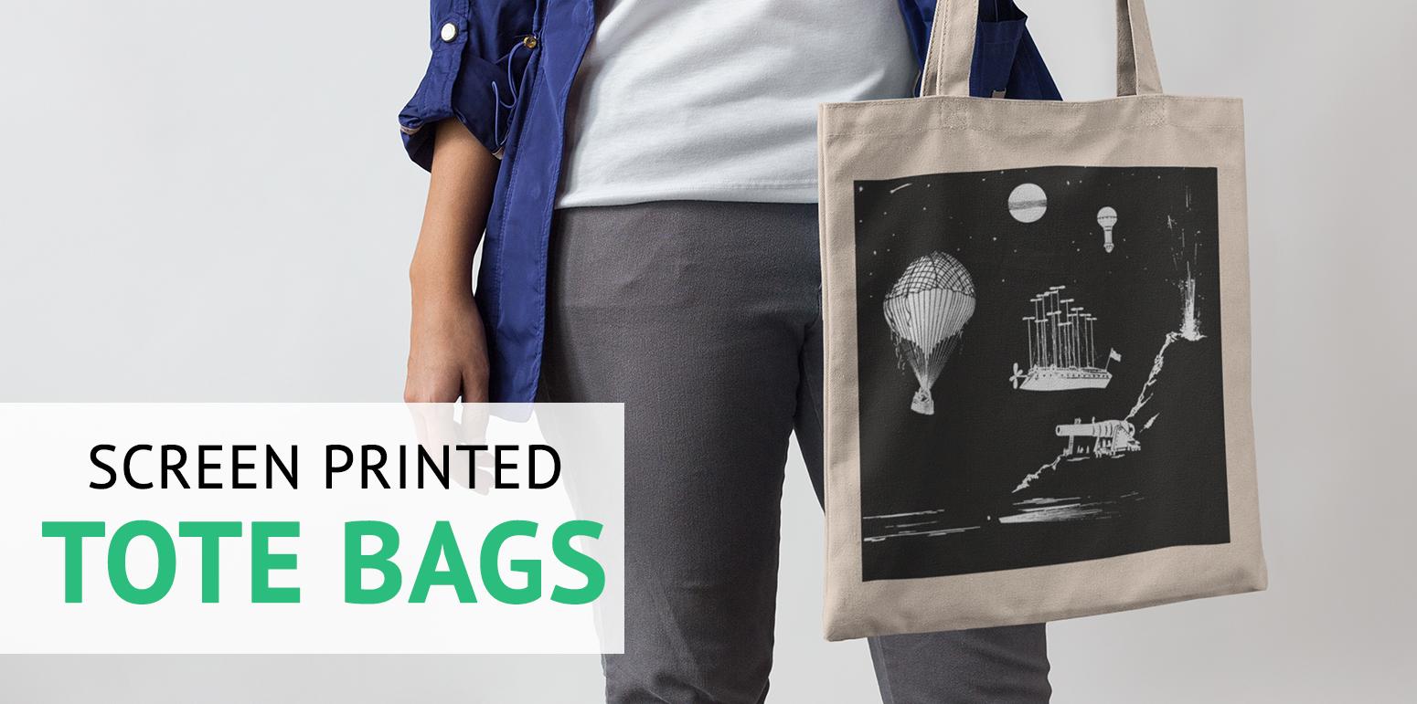Soul 3 - Screen printed tote bags