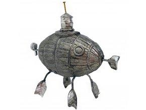 Cínová figurka ponorka