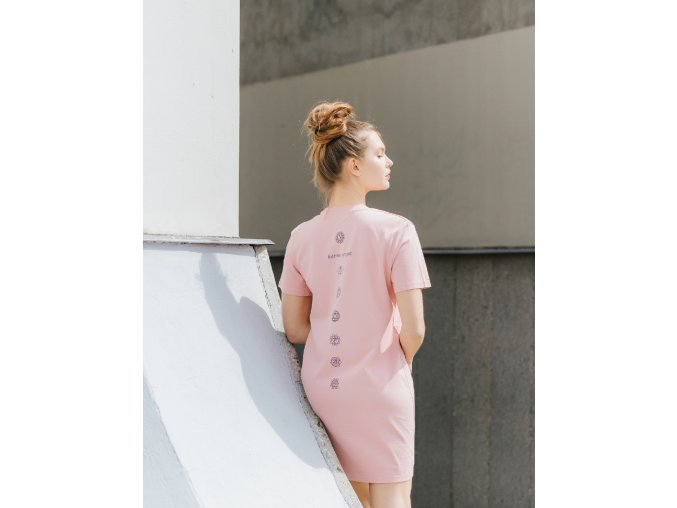 tričkošaty ČAKRY - růžová