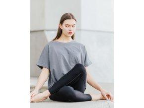 tričko ENOUGH - šedá