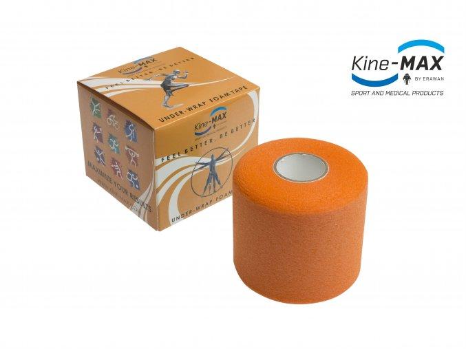 Kine MAX Under Wrap Foam Tape Podtejpovací páska 7cm x 27m Oranžová