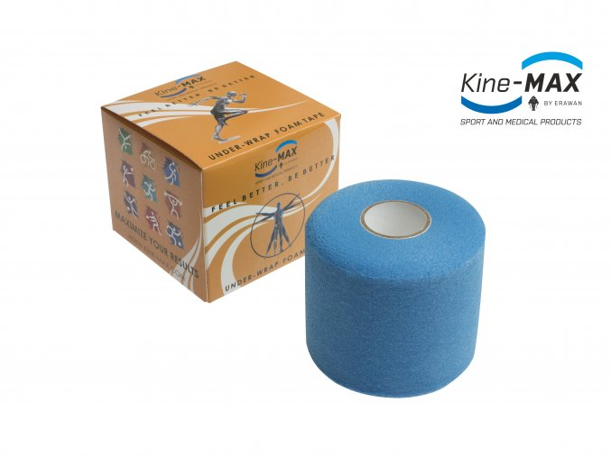 Kine MAX Under Wrap Foam Tape Podtejpovací páska 7cm x 27m Modrá