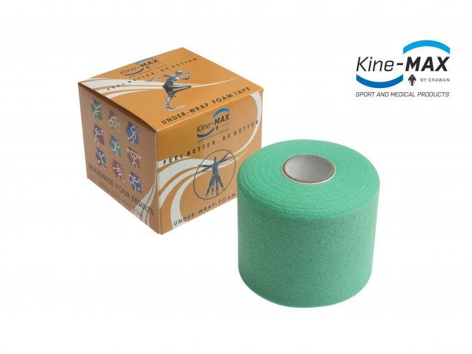 Kine MAX Under Wrap Foam Tape Podtejpovací páska 7cm x 27m Zelená