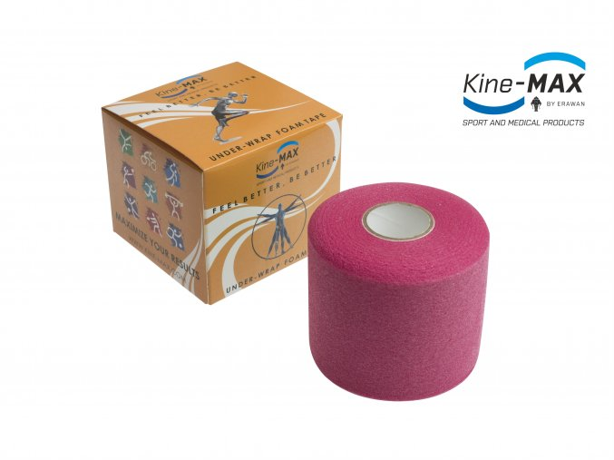 Kine MAX Under Wrap Foam Tape Podtejpovací páska 7cm x 27m Purpurová