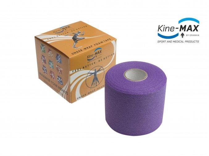 Kine MAX Under Wrap Foam Tape Podtejpovací páska 7cm x 27m Fialová
