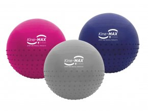 Gymball pink set logo