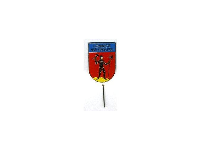 Odznak Lomniec nad Popelkou modrý