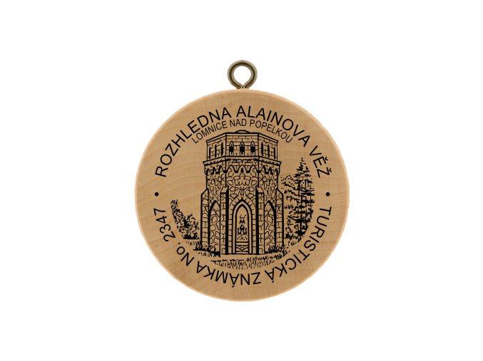 TZ Rozhledna Alainova věž Lomnice nad Popelkou No. 2347