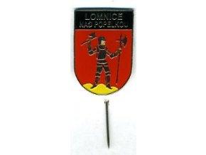 Odznak Lomniec nad Popelkou černý