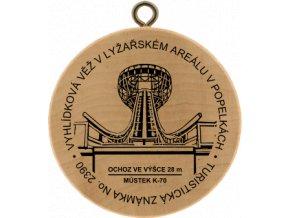TZ Vyhlídková věž v Lyžařském areálu v Popelkách No. 2390