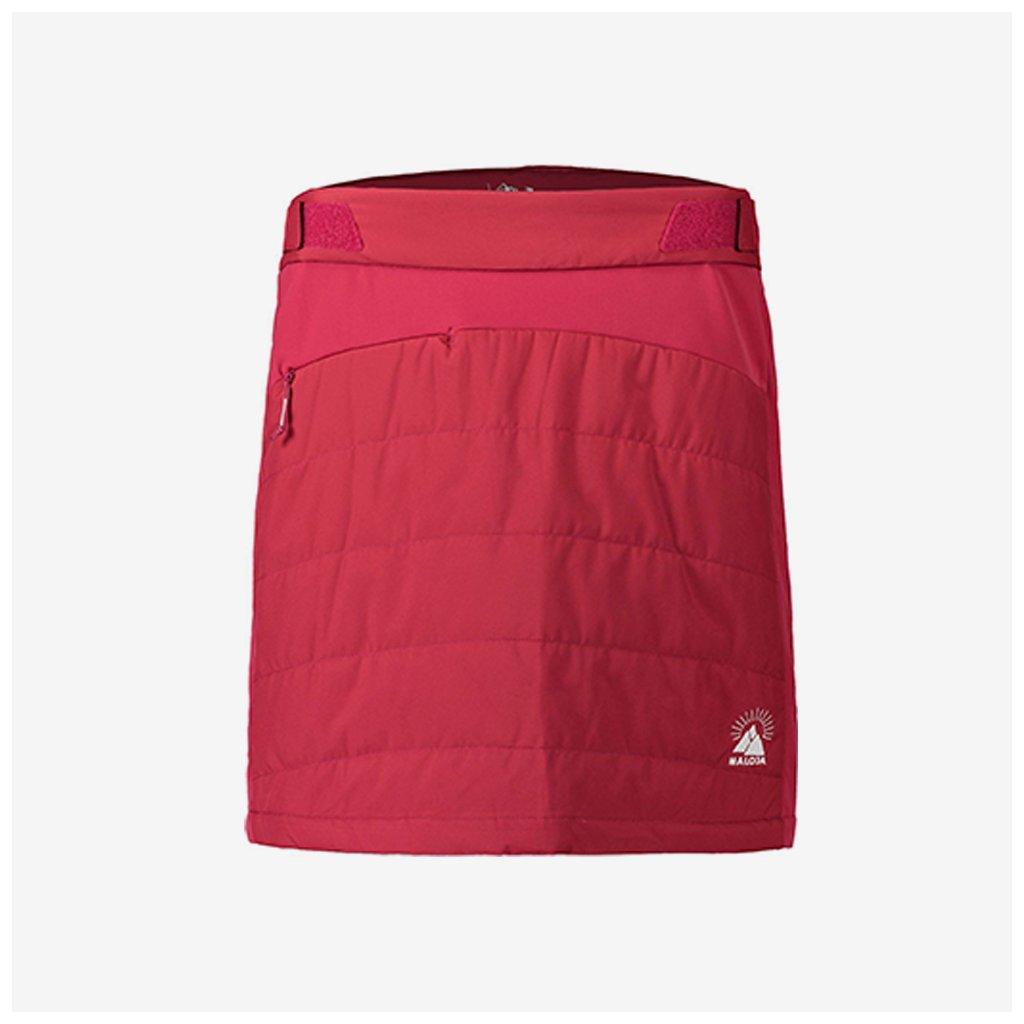 Dámská zateplená sukně SwingM 20 - růžová