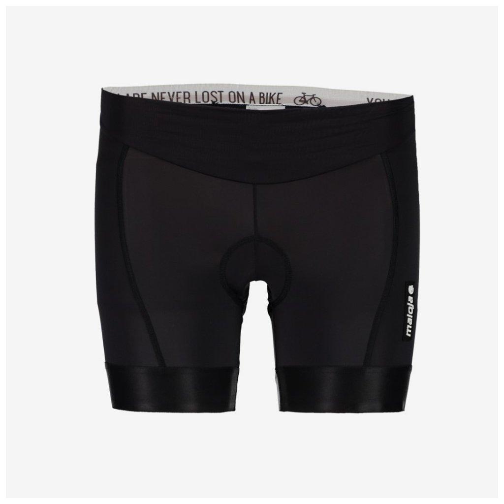 Dámské cyklistické vnitřní šortky MelM Nos - černé