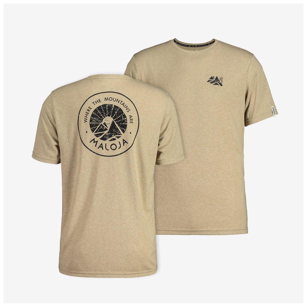 Pánské tričko BovistM - béžové