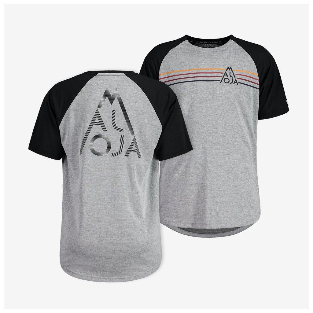 Pánské tričko Maloja AlmenM - šedé