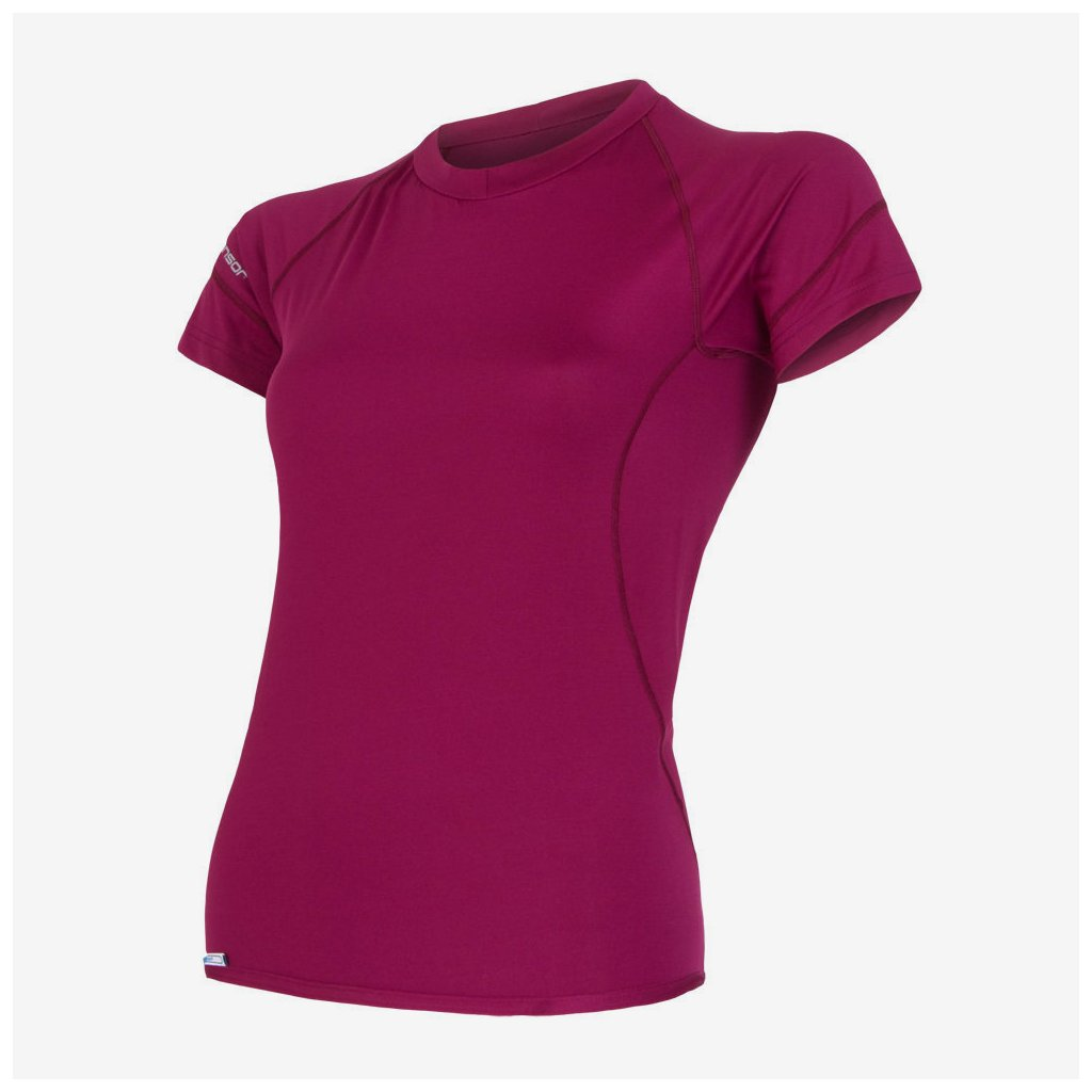 Dámské tričko Coolmax fresh s/sl - růžové