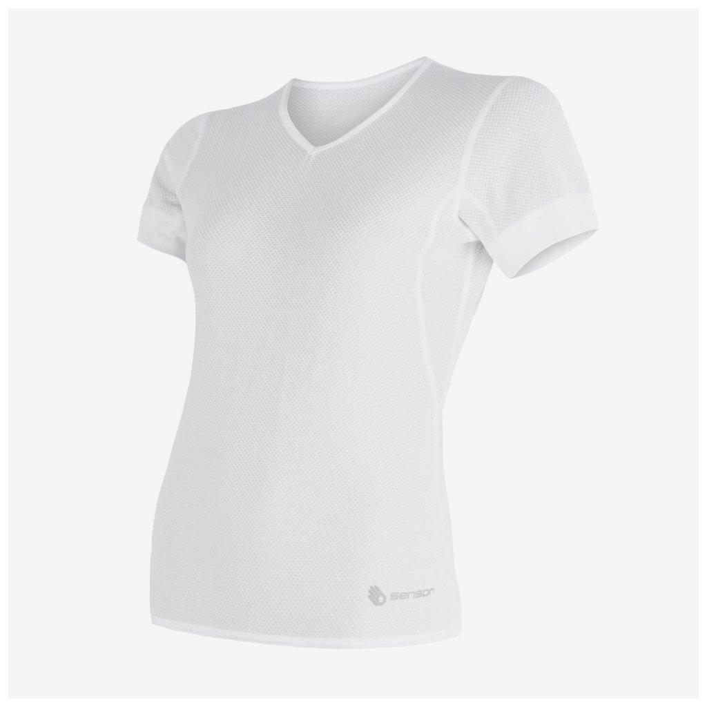 Dámské tričko Coolmax Air 1/2- bílé