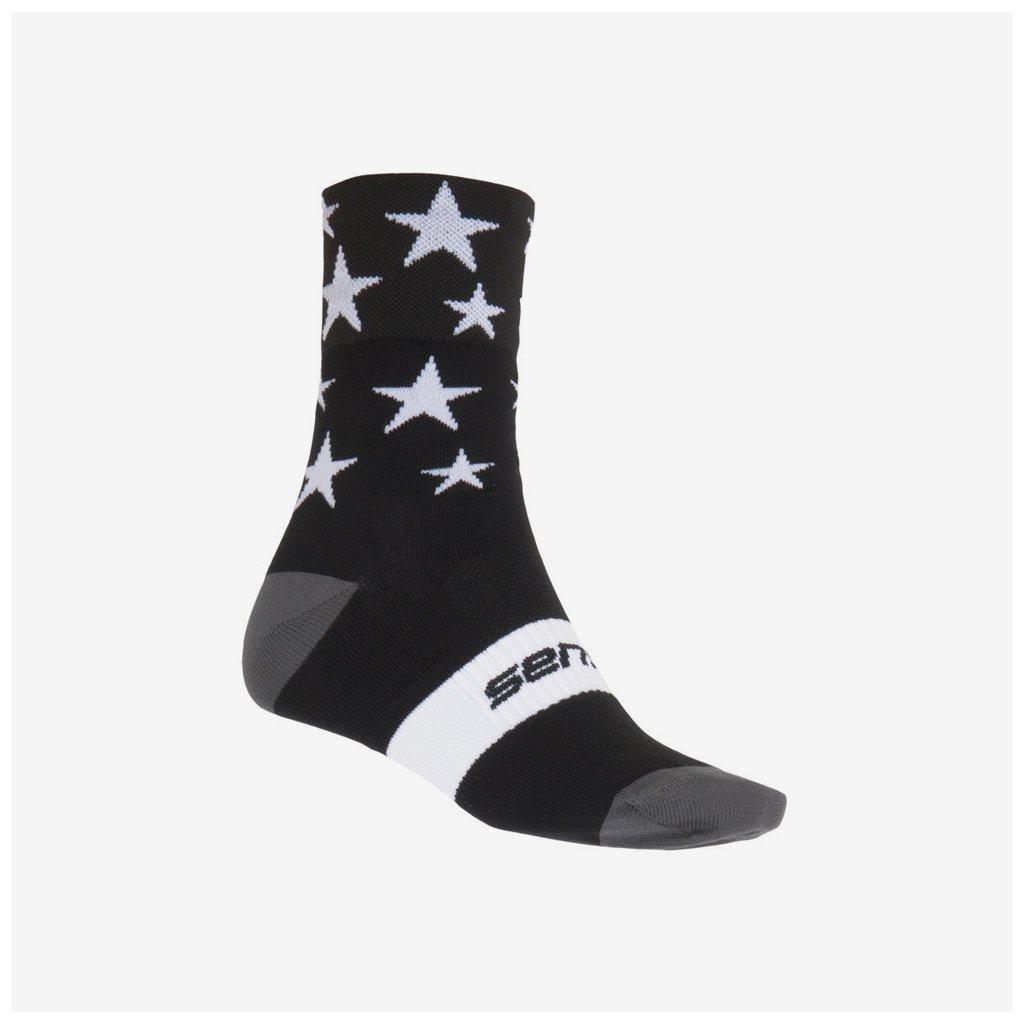Ponožky Stars - černé