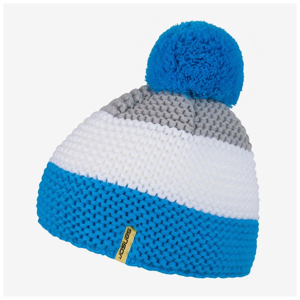 Čepice Pom-Pom - modré