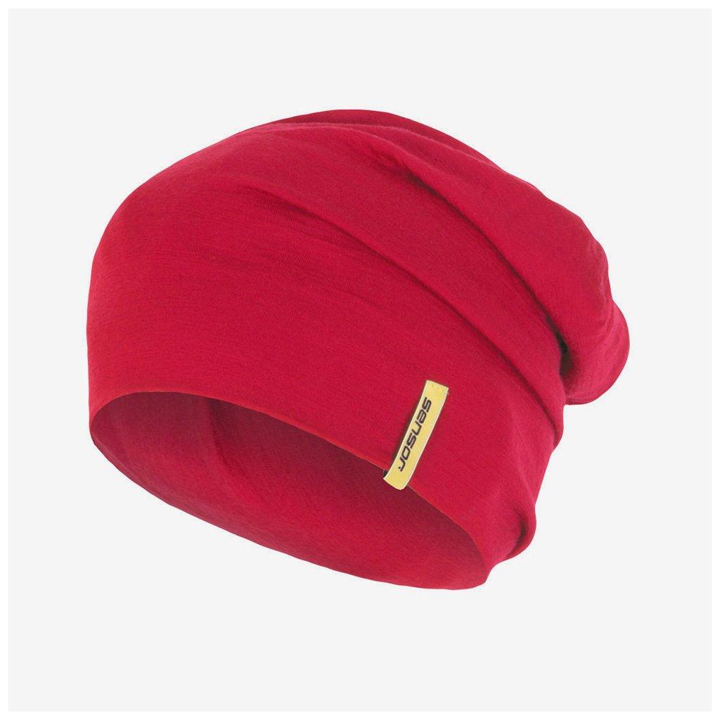 Čepice Merino Wool - růžová