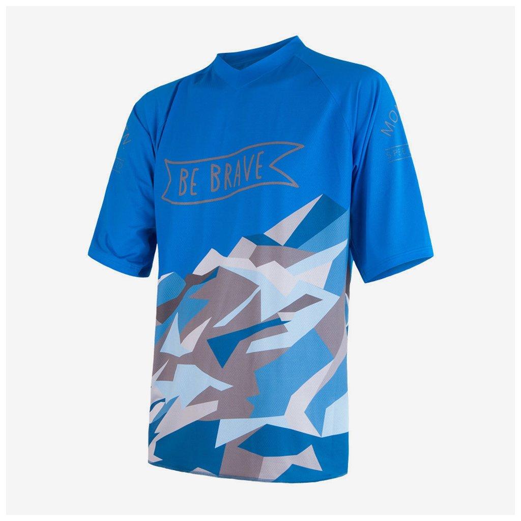 Pánský dres Cyklo Brave - modrý