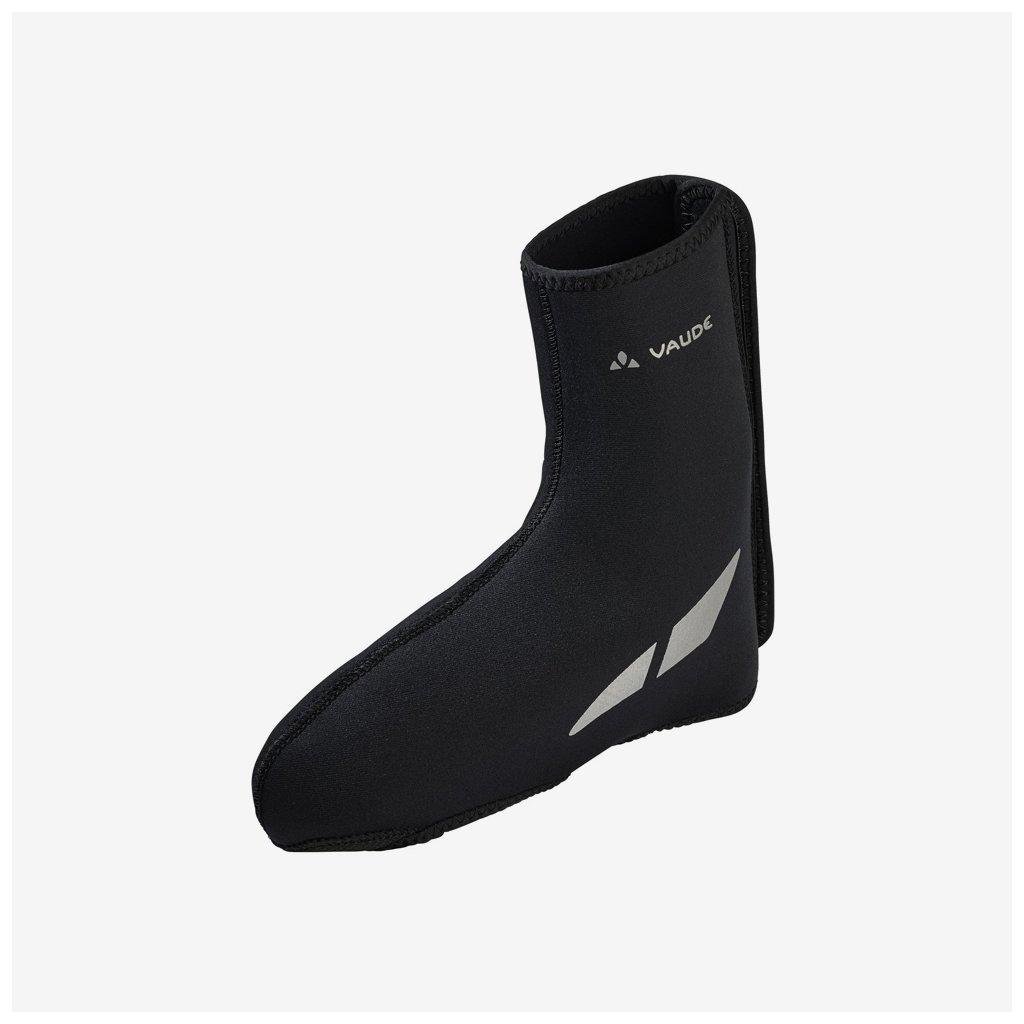 Návleky Vaude na cyklistickou obuv Shoecover Pallas III - černé