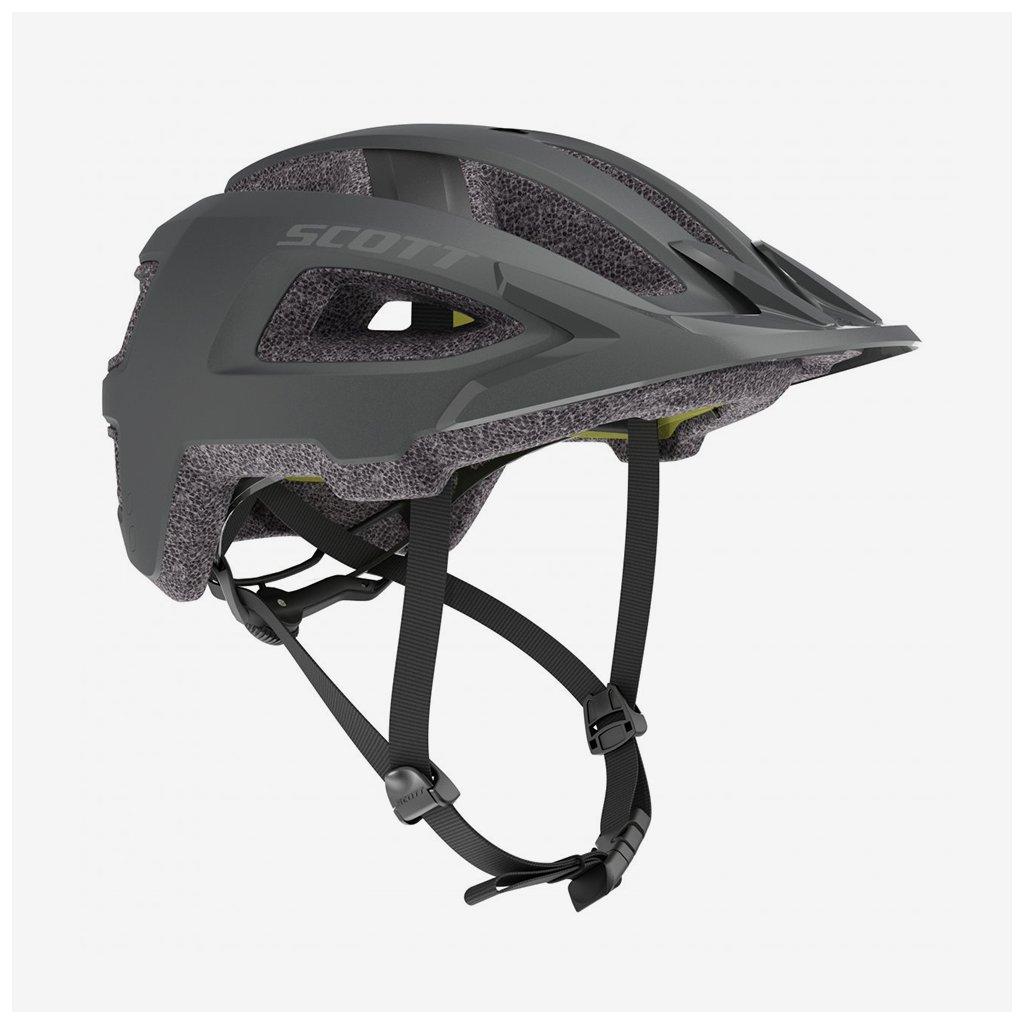 Cyklistická helma Scott Groove Plus - tmavě šedá