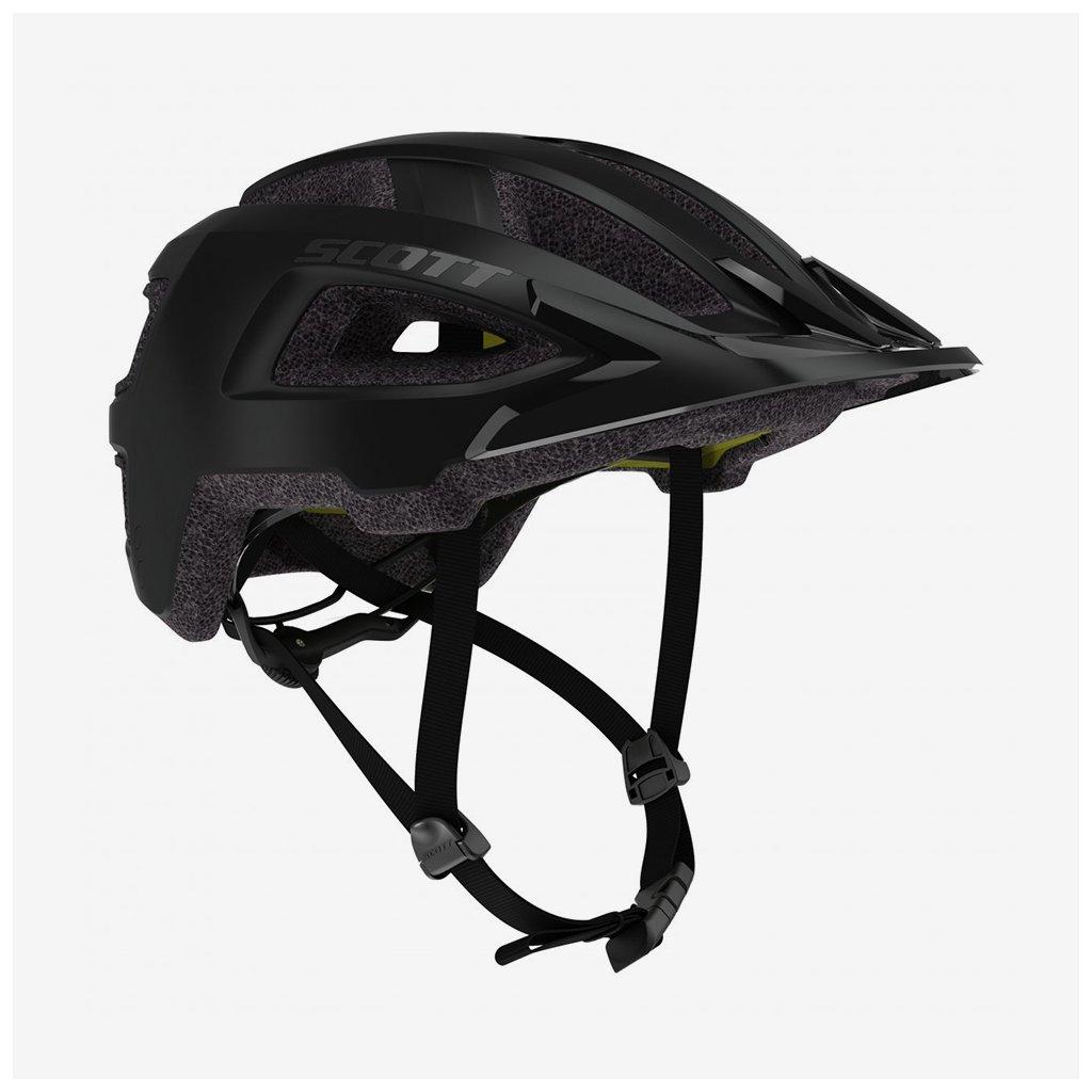 Cyklistická helma Scott Groove Plus - matná černá