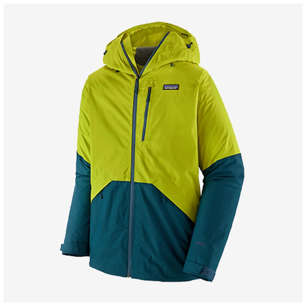 Pánská  bunda Snowshot - žlutá