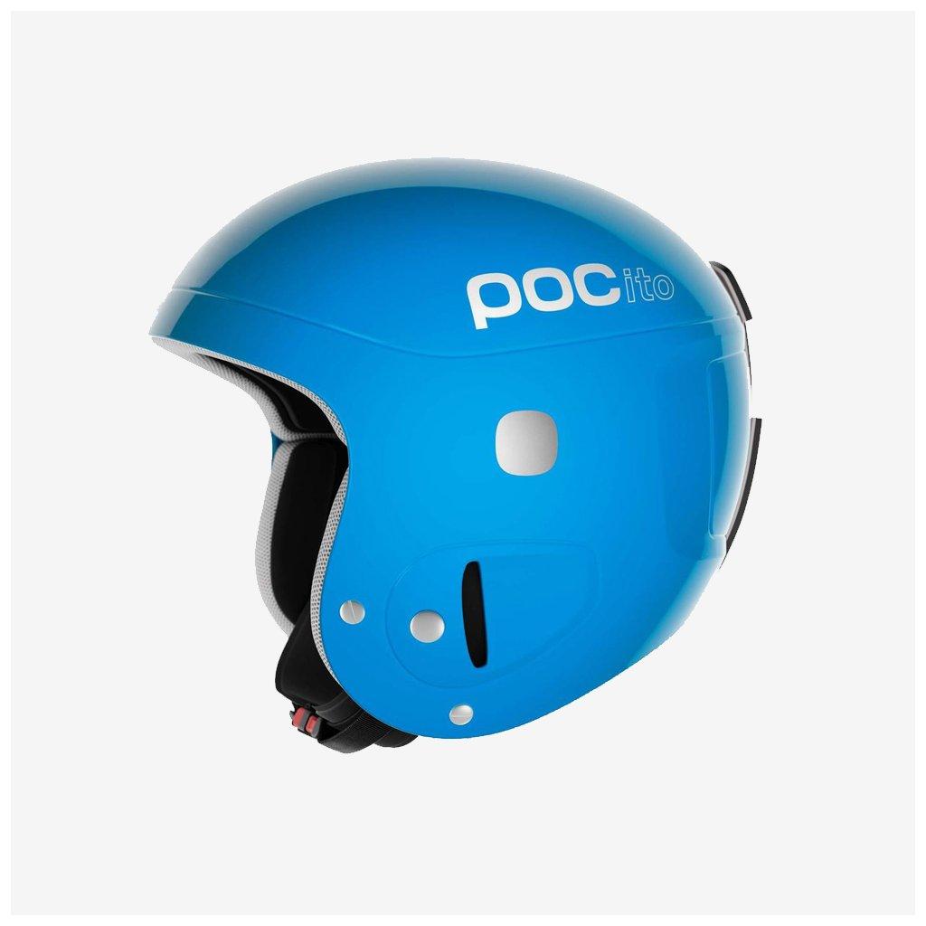 Dětská lyžařská helma POCito Skull - Modrá