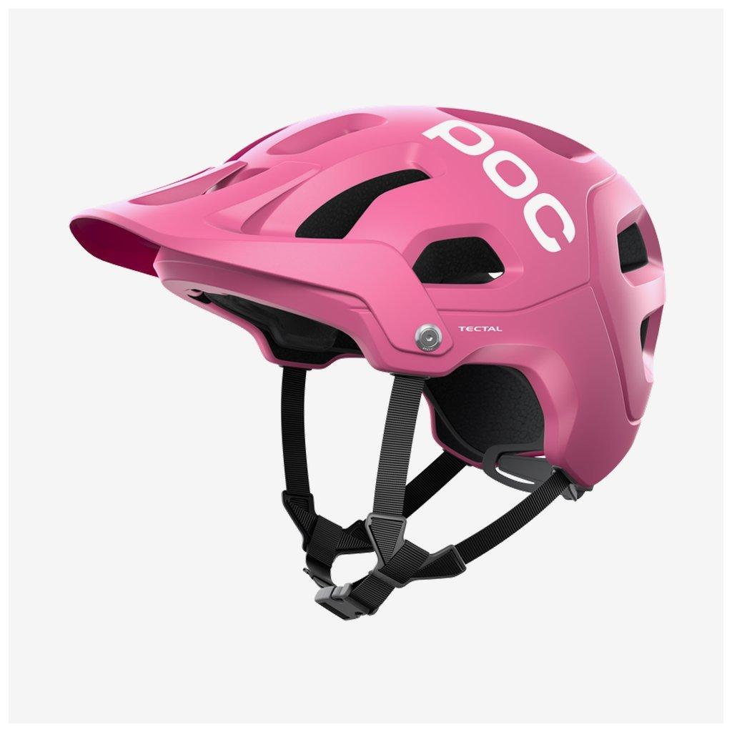 Cyklistická helma POC Tectal - růžová
