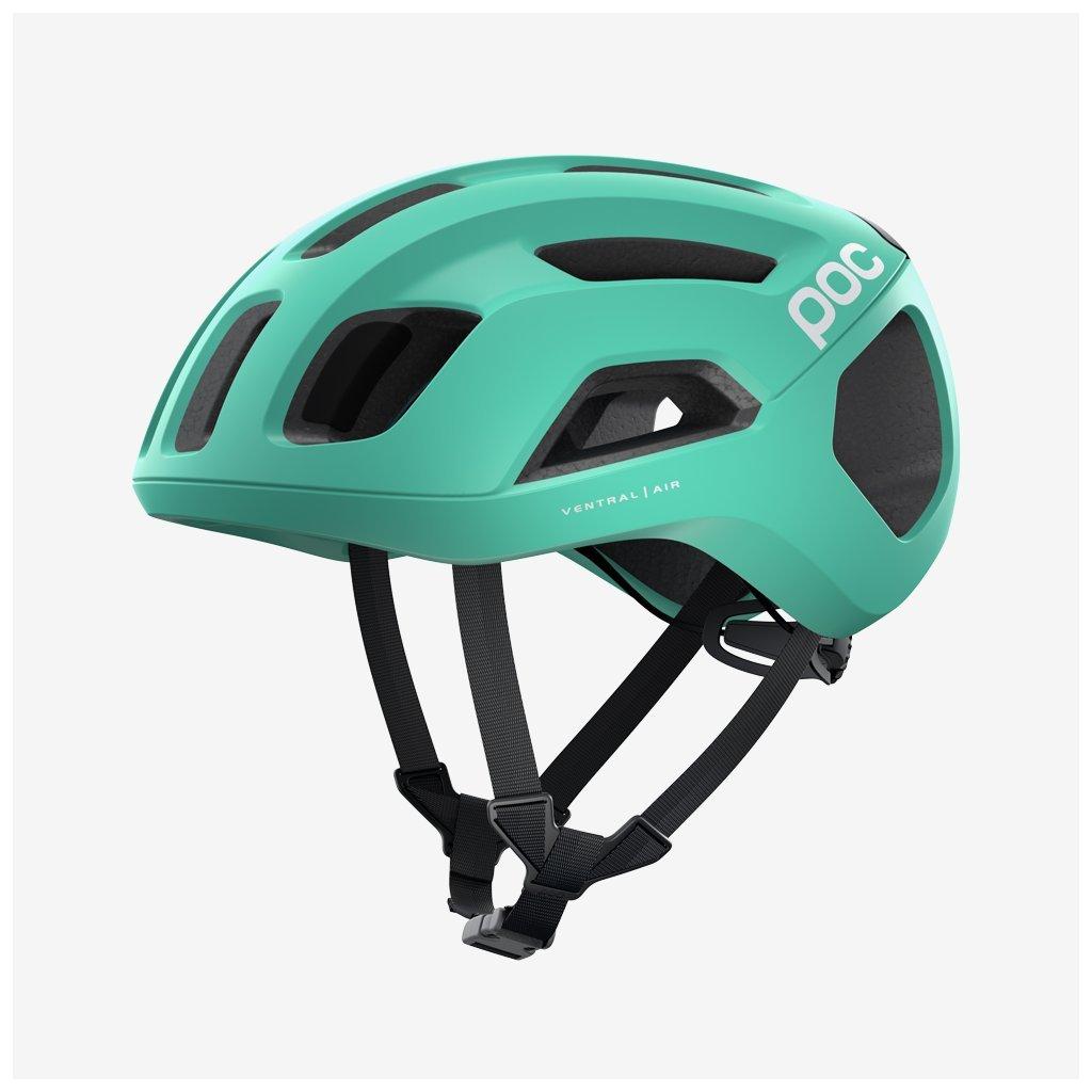 Cyklistická helma POC Ventral AIR SPIN - zelenomodrá