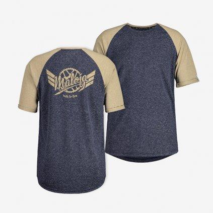 Pánské tričko Maloja StrutM - modré