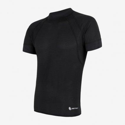 Pánské tričko Coolmax Air 1/2- černé